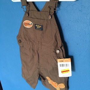 Other - Boys Summer overalls 12m
